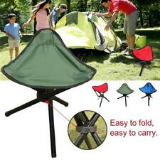 3 legs Tripod Folding Stool Chair Foldable Picnic Triangle Seat Ultralight Chair