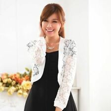 Black And White Color Spring New Fashion Long Sleeved Jacket For Women