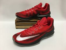Nike Air Max Infuriate Low Basketball Shoes Red White Black 852457-600 Men's NEW