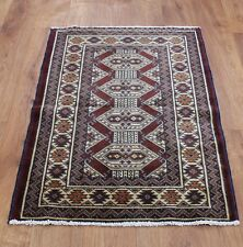 OLD WOOL HAND MADE PERSIAN ORIENTAL FLORAL RUNNER AREA RUG CARPET 92x64CM