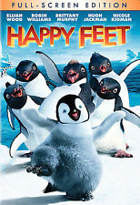 Happy Feet (DVD, 2007, Full Frame) 2 animated sequences perfect