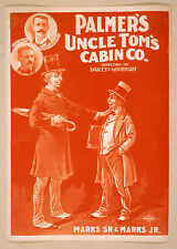 Photo Print Vintage Poster: Stage Theatre Turn Of Century Uncle Toms Cabin 02