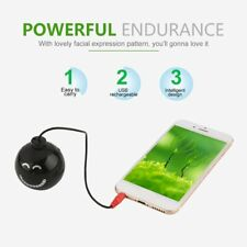 Mini USB Rechargeable Explosion Sound Speaker with Facial Expression Pattern CH
