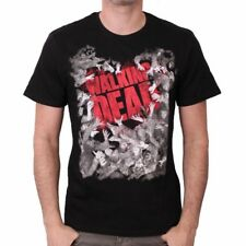 NEW OFFICIAL The Walking Dead Logo Walker Horde Mens T-Shirt Tee Top for Men