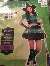 Wicked Cool Witch Small or Medium Junior Woman's Size 3-5 NEW in package