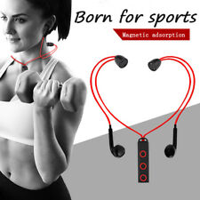 Magnetic Bluetooth4.1 Headset Earphone Sport Running Headphone Fashion Lot on1