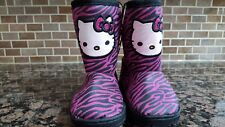 New Little Baby Girls Boots Size 5 6 8 Hello Kitty, Sparkly Black, or Teal