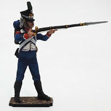 Tin soldier, Semi-Collectile, French Chasseur №5, Ranger, Napoleonic Wars, 54 mm