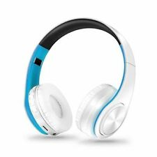 Bluetooth Headset Earphone Wireless Stereo Foldable Mp3 Player Headphones