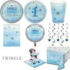 One Little Star Boy (Blue)1st Birthday/Baby Shower) Party Tableware/Decorations