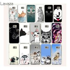 For Samsung Galaxy S6 edge lovely Shockproof phone Case Cover Cat Dog Cartoon