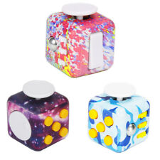 EDC 6 Sided Fidget Cube Anxiety Stress Relief Focus ADHD Toys For Adults&Child