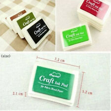 Child Craft Oil Based DIY Ink Pad Rubber Stamps Fabric Wood Paper Scrapbooking