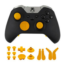14pcs Replacement Thumbsticks Dpad Paddles Mod Kit for Xbox One Elite Controller