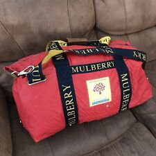 vintage mulberry Challenge Duffle Duffel Bag Holdall