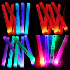 100/150pcs LED Glow Foam Stick Light Stick Customized Logo Cheer Party Concert 4