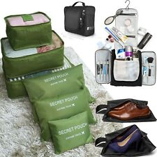Travel Packing Cubes, YELLOW-PRICE Luggage Organizers Different Set Toiletry Bag