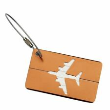 Airplane Baggage Luggage Tags Holder Metal Aluminum Alloy Tools Kits For Travels