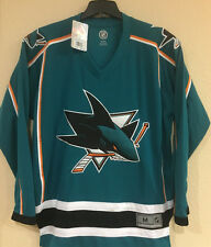 San Jose Sharks Men's Jersey - Embroidered Reebok Jersey NHL Licensed