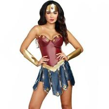 Wonder Woman Cosplay Costumes Adult Justice League Supper Hero Costume