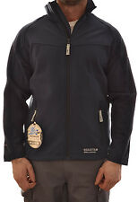 REGATTA REACTOR MENS SOFTSHELL JACKET COAT MIDNIGHT NAVY BLUE MA636 E1