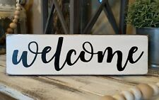 Welcome Home Sign Decor
