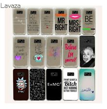For Samsung S6 Edge S8 S9 Plus Galaxy S7 Case Cover Hard Back Covers Phone N0241