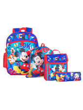 Mickey and the Roadster Racers 5-Piece Backpack Set