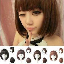 Bright Color Cosplay Party Wig Fancy Dress Bob Style Full Wigs Heat Resistant Yp