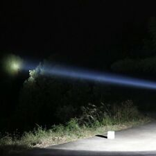 """5"""" Handheld LED Spot Light Waterproof Rechargeable Outdoor Camping Spotlight FO"""