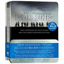 Band of Brothers w/ Limited Tin Case (Blu-ray, 6 Discs)  *NEW* SEALED