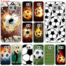 Soccer ball case Cover Hard Football for Galaxy Samsung S6 S7 Edge S8 S9 Plus