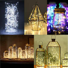 2M 20 LEDs Battery Operated Mini LED Copper Wire String Fairy Christmas Lights