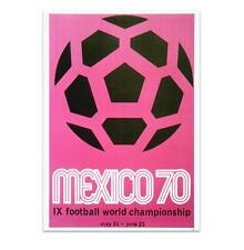 Official World Cup Poster - Mexico 1970 Great Value