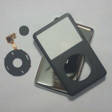 Black iPod Classic 80GB 120GB 160GB front panel + clickwheel+back cover housing