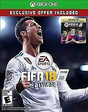 Brand New Sealed Xbox One FIFA 18 - Includes 500 Ultimate Team Points