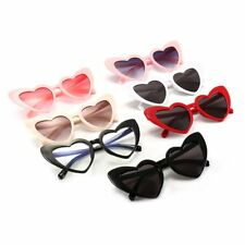 Fashion Heart Shaped Eye Sunglasses for Women For Teen Girls UV Protection XP