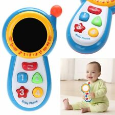 Baby Musical Phone Toy Kids Learning Study Musical Sound Cell Phone Children