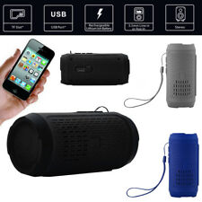Portable Wireless Bluetooth Stereo SD Card FM Speaker For Smartphone Tablet PC