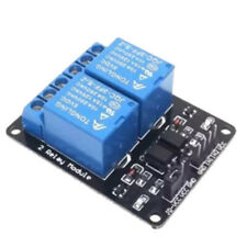 5V 2 Channel Relay Module With Optocoupler Expansion Board Low Level Triggered