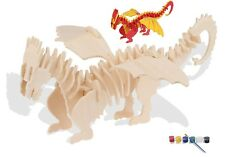 3D Wooden Animal Puzzles for Adults