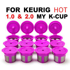 i Cafilas Reusable Refillable K-Cups Filter Pod for Keurig 1.0 2.0 Coffee Makers