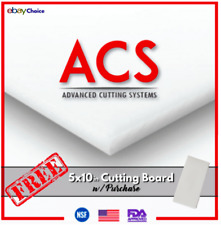 🇺🇸 Commercial Cutting Board White Plastic Cutting Boards Perfect For Kitchen