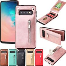 For Samsung Galaxy S10 S9 S8 Plus Note 9 Magnetic Flip Leather Wallet Case Cover