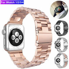 For Apple Watch iWatch 1/2/3/4 Stainless Steel Band Watch Strap Bracelet 42 44mm
