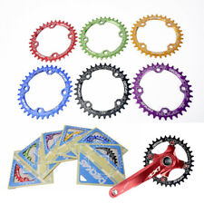 DECKAS Bike Wide Narrow Round Oval Chainring Chain Ring 104mm BCD 32 34 36 38T