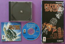 Burning Soldier (3DO, 1994) with Instructions & Long Box