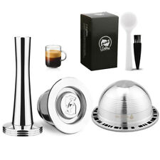 i Cafilas Stainless Steel Reffilable Nespresso Compatible Pods Espresso Capsules