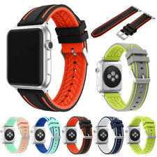 Sports Gel Strap Watch Band Wristband For Apple Watch Band iWatch 4/3/2 42/44mm