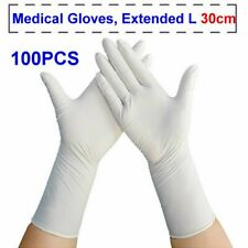 The Powder Free Medical Exam Textured Nitrile Latex Disposable Gloves 100PCS